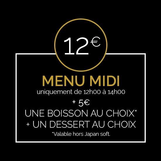 Kaly Sushi menu midi